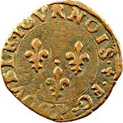 Double Tournois - Henri III (Dijon mint; 1st type) – reverse