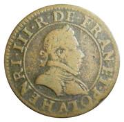 Double Tournois - Henri III (Paris mint; 1st type) – obverse