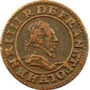 Double Tournois - Henri III (Paris mint; 2nd type) – obverse
