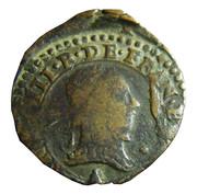 Double Tournois - Henri III (Paris mint; 3rd type) – obverse