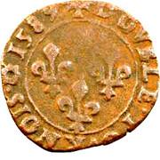 Double Tournois - Henri III (Rouen mint) – reverse