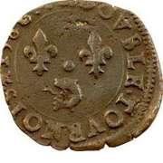Double Tournois - Henri III (Dauphiné mint; Type B; Z on obverse) – reverse
