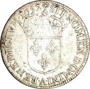 ¼ Écu - Louis XIV -  obverse