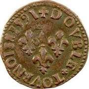 Double Tournois - Henri IV (Bordeaux mint) – reverse