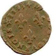 Double Tournois - Henri IV (Limoges mint) – reverse