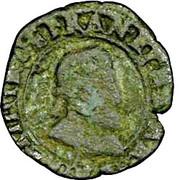 Double Tournois - Henri IV (Rennes mint) – obverse