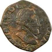 Double Tournois - Henri IV (Saint-Palais mint) – obverse