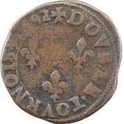 Double Tournois - Henri IV (Tours mint) – reverse