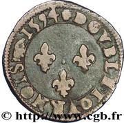 Double Tournois - Henri IV (Villeneuve mint) – reverse