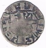 """Denier parisis de Montreuil-sur-Mer - Philippe II dit """"Philippe Auguste"""" – obverse"""