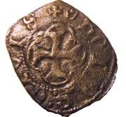 """Obole tournois - Charles VII dit """"Le Victorieux"""" – reverse"""