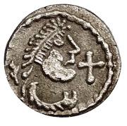 Denier of Quentovic - Adalsar monetary men – obverse