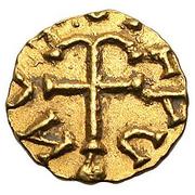 Tremissis - Angiulfus (Orléans) – reverse