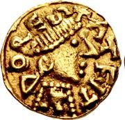 Tremissis - Madelinus (Dorestat) – obverse