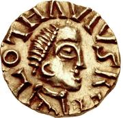 Tremissis - Clothaire III (Wandelenus, Paris) – obverse