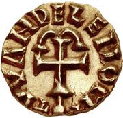 Tremissis - Clothaire III (Wandelenus, Paris) – reverse