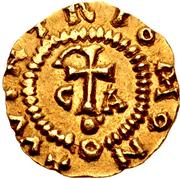 Tremissis - Wintrius (Chalon-sur-Saône) – reverse