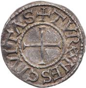 Denier - Louis II or Louis III (Tours) – reverse