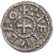 Obol - Charles II the Bald (Melle) – reverse