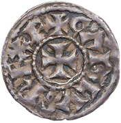 Denier - Charles II the Bald (Melle) – obverse