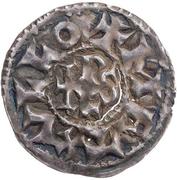 Denier - Charles II the Bald (Melle) – reverse