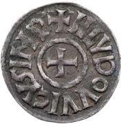 Denier - Louis the Pious (Melle) – obverse