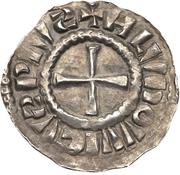 Denier - Louis IV the Child (Strassbourg) – obverse