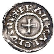 Denier - Charles III the Simple (Belgevagus) – obverse