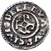 Denier - Charles III the Simple (Belgevagus) – reverse
