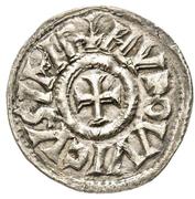 Denier - Louis I the Pious (Dax) – obverse