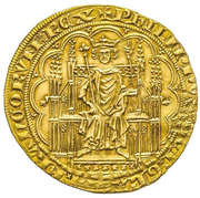 Chaise d'or - Philippe IV the Fair – obverse