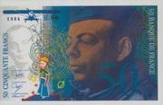 50 Francs Saint-Exupery Type 1984 -  obverse