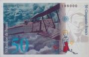 50 Francs Saint-Exupery Type 1984 -  reverse