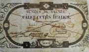 500 Francs - type ancien -  obverse
