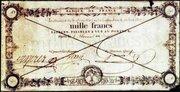 1000 Francs  - type ancien -  obverse