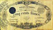 500 Francs - type 1831 -  obverse