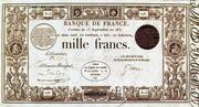 1000 Francs - type 1831 – obverse