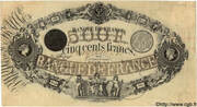 500 Francs - type 1842 -  obverse