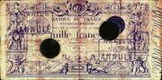 1000 Francs - type 1848 succursales – obverse