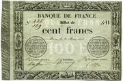 100 Francs - type 1848 provisoire 1 – obverse