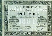 100 Francs - type 1848 provisoire 2 – obverse