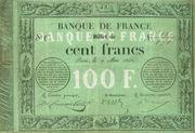 100 Francs - type 1848 provisoire transposé – obverse