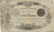 100 Francs - type 1848 définitif à l'italique 2 – obverse