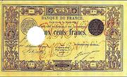200 Francs - type 1847 2 -  obverse