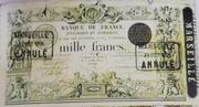 1000 Francs - type 1848 succursales modifié – obverse