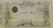 1000 Francs - type 1848 succursales modifié – reverse