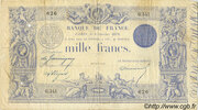 1000 Francs - type 1862 indices noirs -  obverse