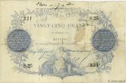 25 Francs - type 1870 Paris -  obverse