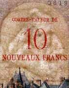 10 NF sur 1000 francs Richelieu (type 1953) -  obverse