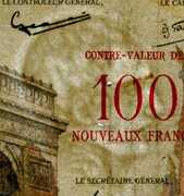 100 NF sur 10000 Francs Bonaparte (type 1955) -  obverse